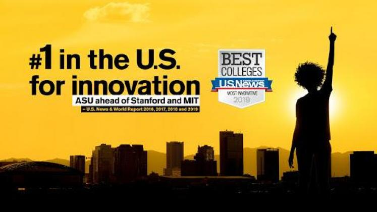 ASU #1 Innovation for the 4th year in a row - 2019
