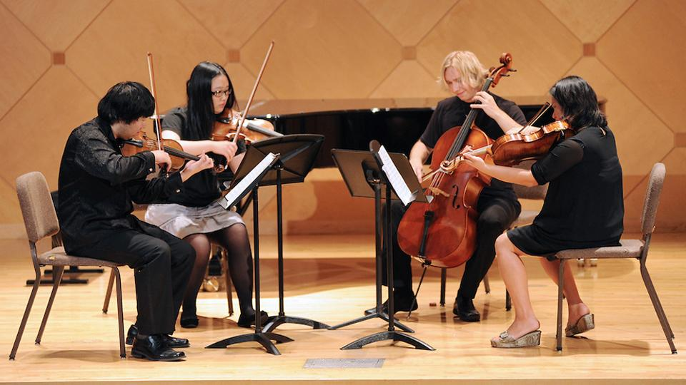 ASU Visiting String Quartet Residency Series