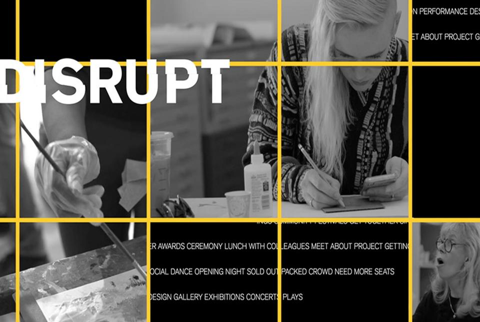 Disrupt, Herberger Institute's annual magazine