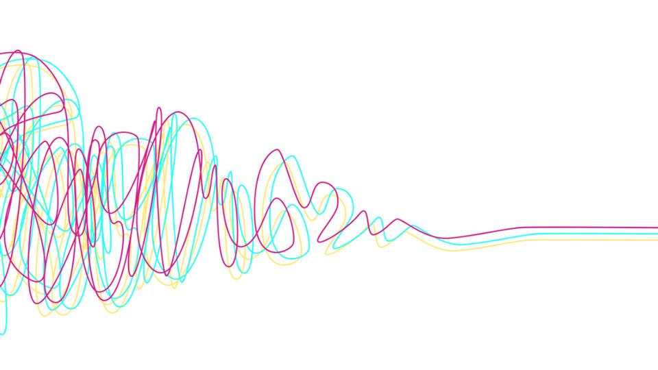 abstract line artwork