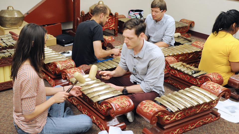 ASU gamelan room
