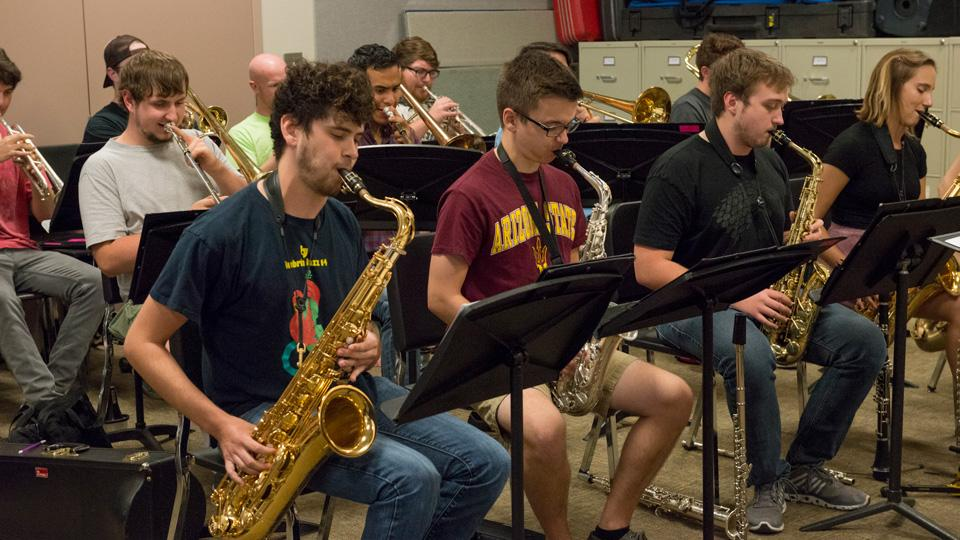 ASU Jazz Students