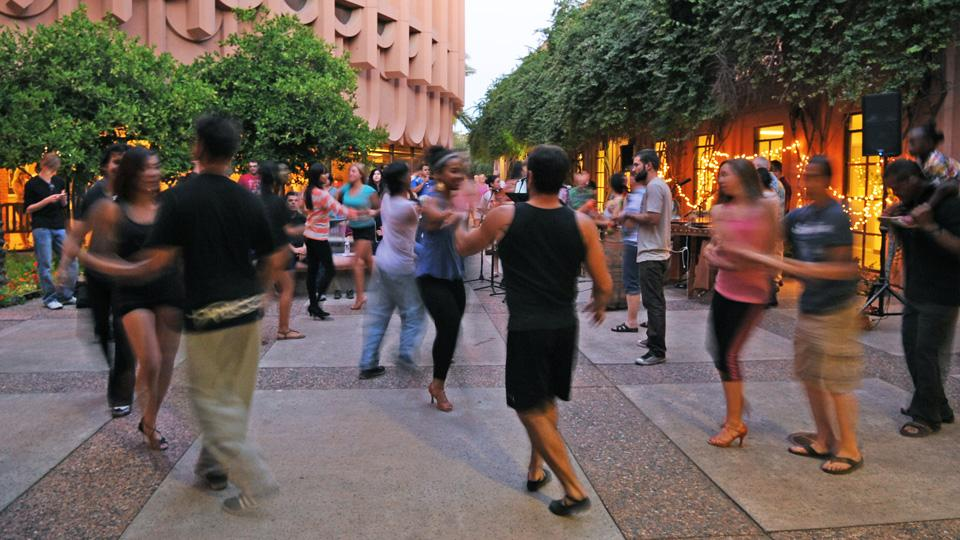 latin dance event at ASU School of Music