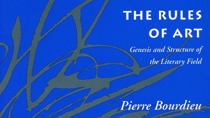 Pierre Bourdieu - The Rules of Art Book Cover