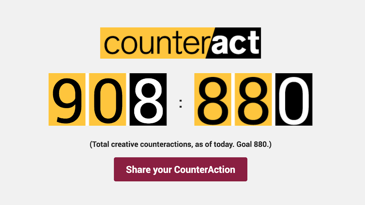CounterAct Counter: 908 out of goal of 880