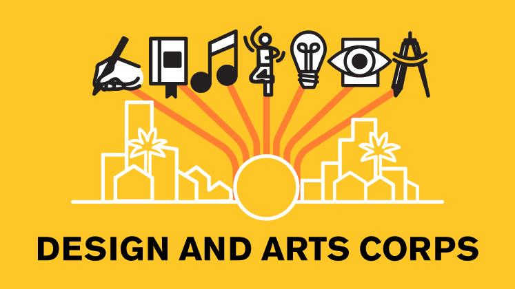Design and Arts Corps graphic