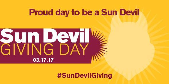 Sun Devil Giving Day - 3-17-17