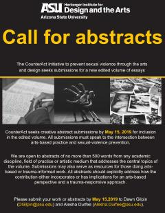 CounterAct - Call for abstracts poster - May 2019
